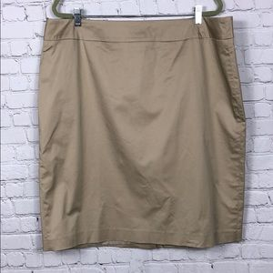 Jones New York Beige Pencil Skirt NWT Size 18W